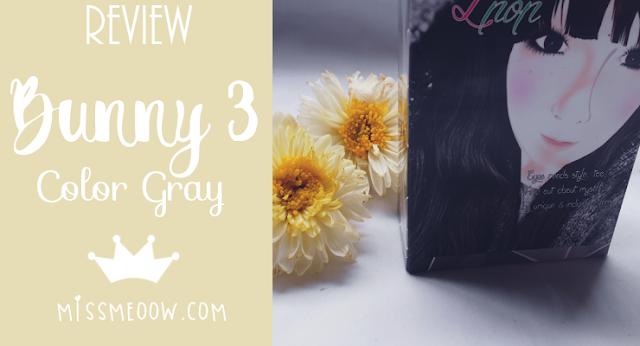 Klenspop: Bunny 3 Color Gray. #Review