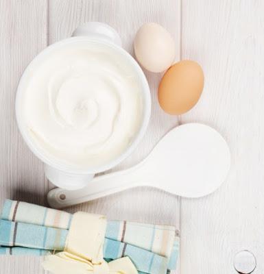 Cara Meluruskan Rambut Tanpa Rebonding Secara Alami dengan yogurt dan telur
