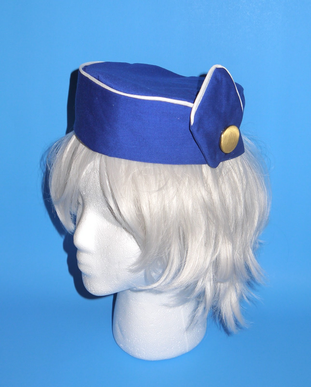 233aeef0e86 Crafters In Disguise  Pan Am Flight Stewardess Hat