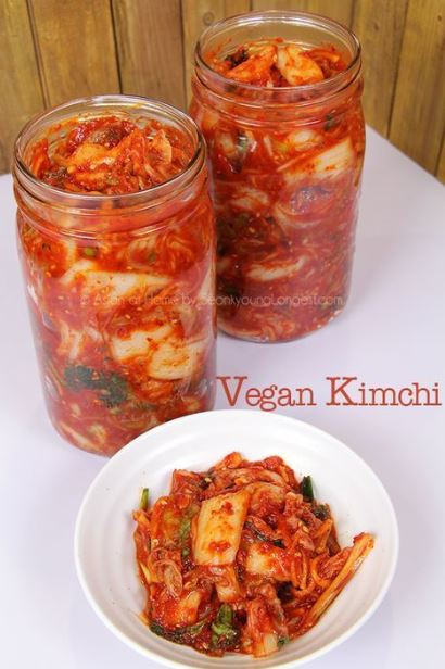 The BEST Vegan Kimchi