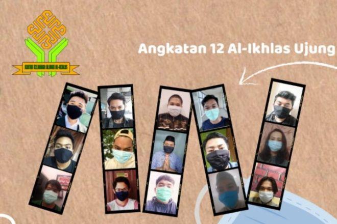 Alumni Al-Ikhlas Ujung Angkatan 12 Ajak Masyarakat Pakai Masker