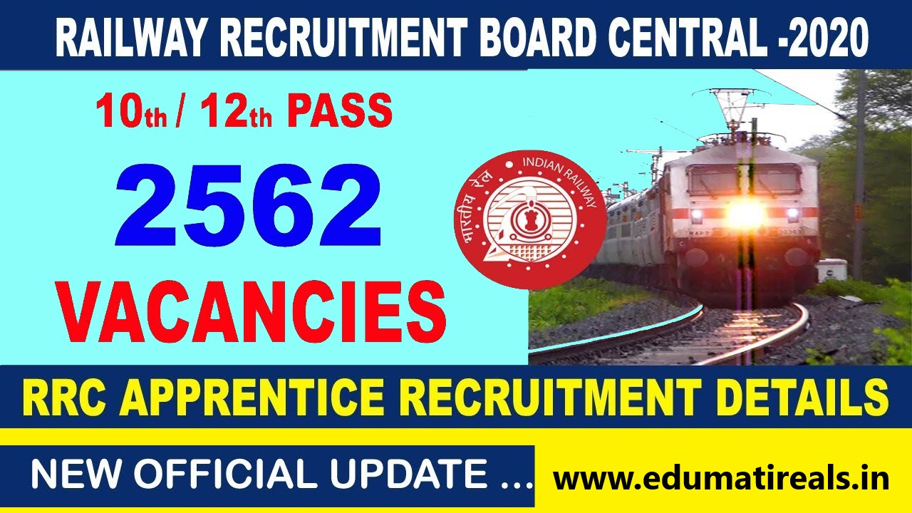 2562 Apprentices Recruitment in Central Railway