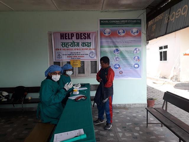 Help Desk COVID-19 Nepal