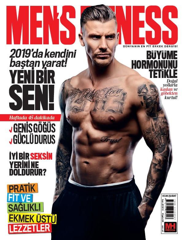 Men's Fitness Ocak 2019 Dergi PDF indir