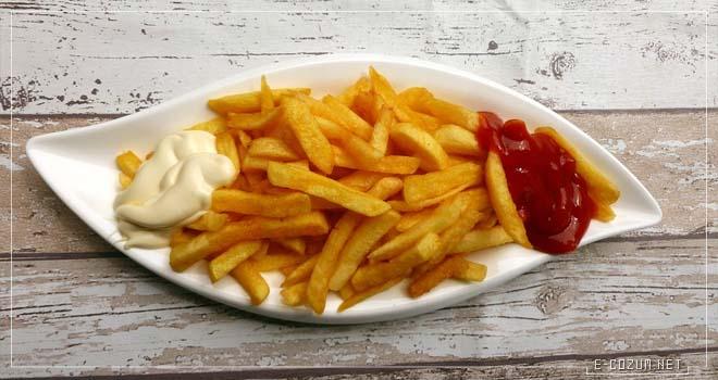 Patates kızartması - Yaşlandıran yiyecekler