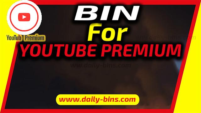 Youtube Premium Bin 2022