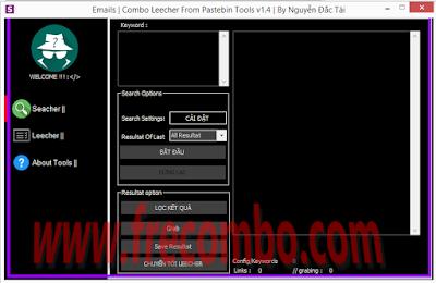 COMBO LEECHER FROM PASTEBIN TOOLS V1.4   BY SAGNAM