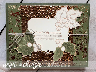 Nature's INKspirations by Angie McKenzie, Independent Stampin' Up!® Demonstrator and Creative Coach, Christmas Gleaming, Praiseworthy Prose, Supplies available 24/7 in my online store, Christmas 2019,