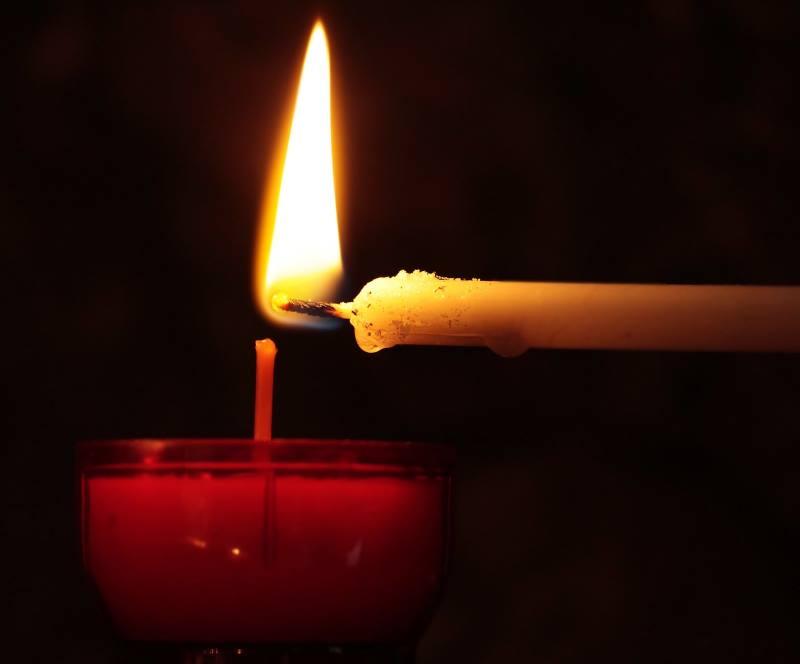 llama de una vela