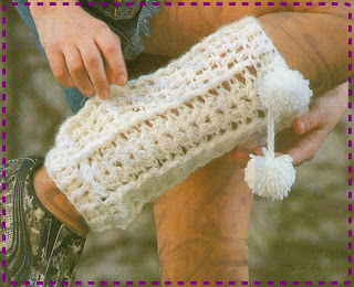 3523faa82f1 tejido crochet y artesanías  POLAINAS.