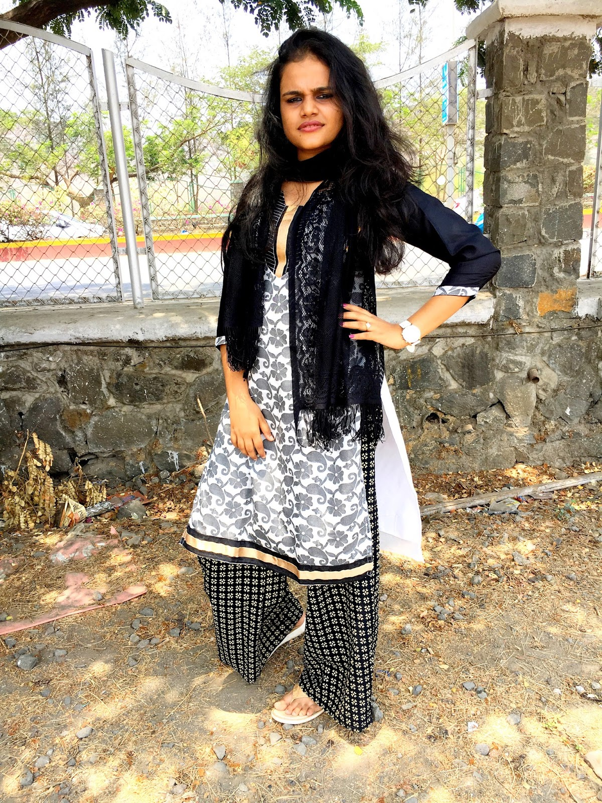 Girlishringar: HOW TO STYLE KURTA FOR DAILY WEAR