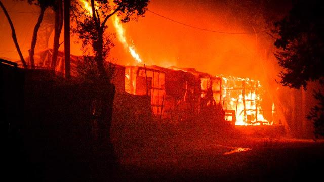 Μόρια: H κυβέρνηση του πυρομανή πυροσβέστη