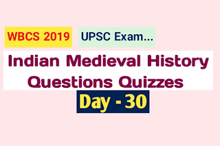 Indian Medieval History Questions Quizzes