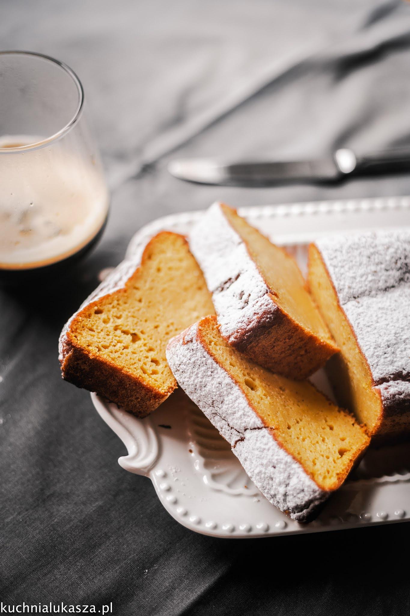 Ciasto dyniowe z oliwą przepis