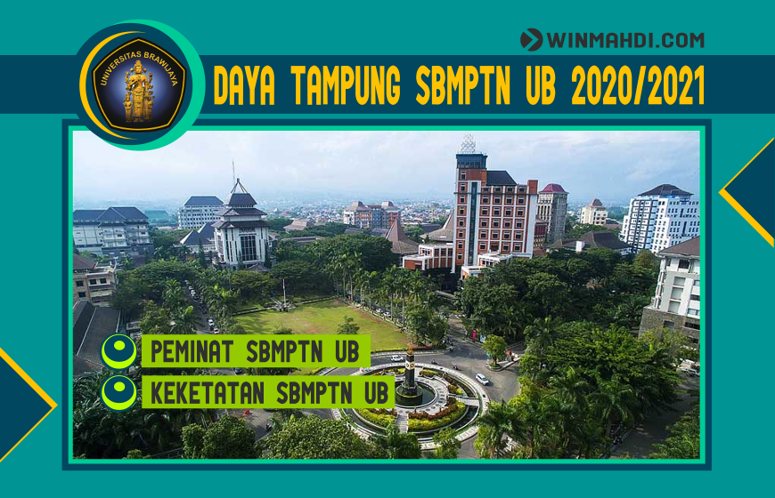 DAYA TAMPUNG SBMPTN UB 2020