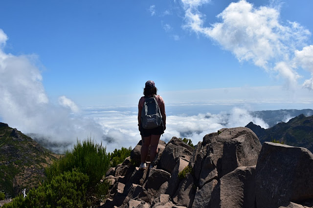 THE HARDEST ROUTE IN MOUNTAIN IN MADEIRA TO PEAK RUIVO