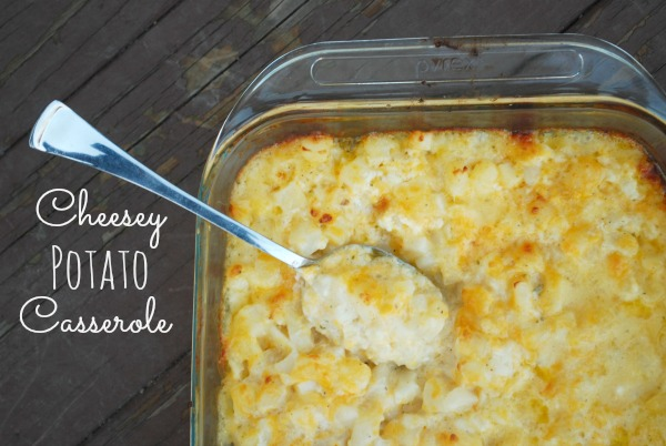 Cheesey, Gooey, amazing! This potato casserole deserves a special place on every holiday table from Christmas to Easter!