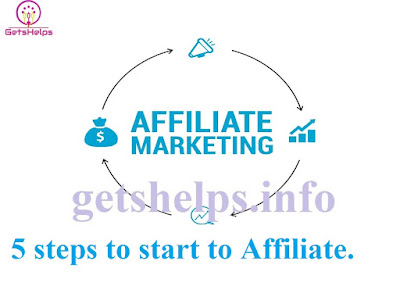 10 Steps to start Affiliate marketing: