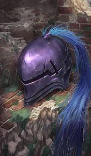 Elmo da Pluma Púrpura