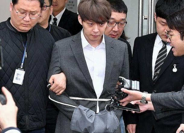 Park Yoochun Positif Narkoba Dan Terancam 7,5 Tahun Penjara