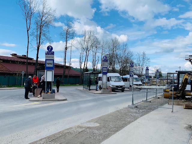 Zakopane to Krakow Bus Stop
