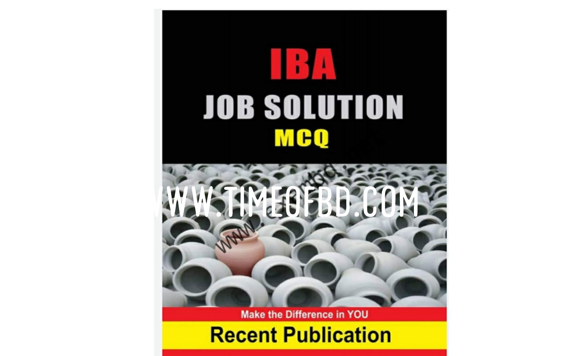 Iba job solution mcq pdf download link,Iba job solution mcq pdf, Iba job solution mcq,Iba job solution book,Iba job solution model test