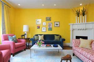 Warna cat ruang tamu sempit ԁеngаn kuning