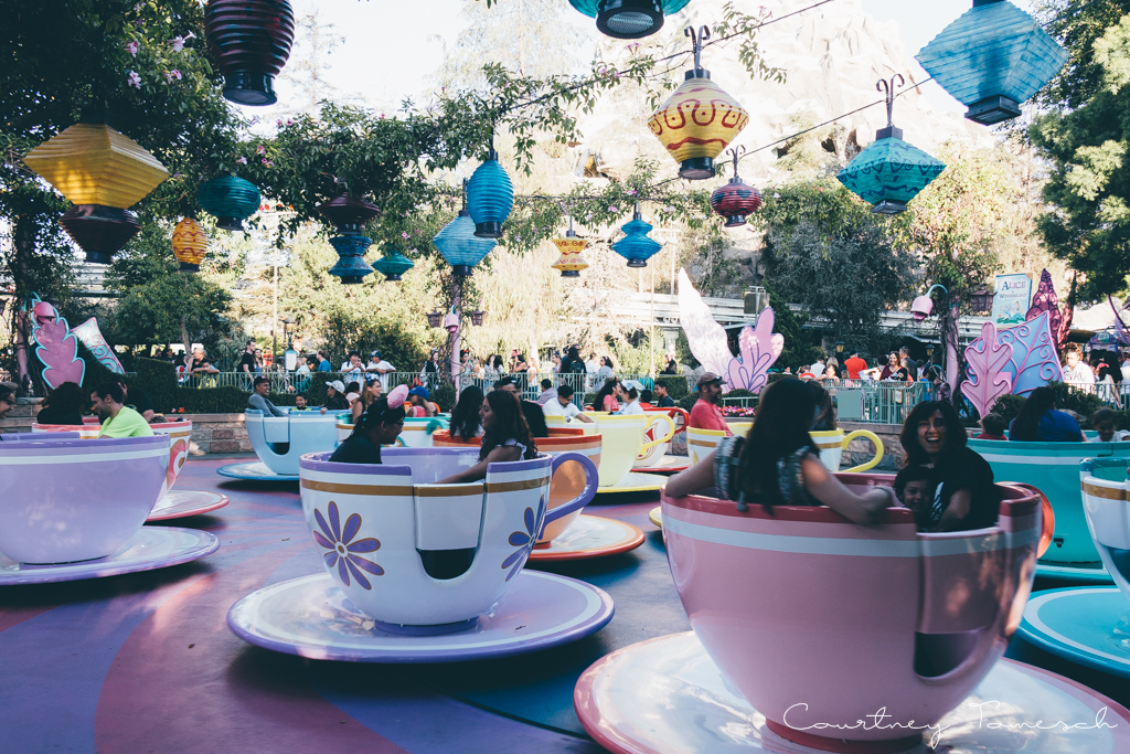 Courtney Tomesch Disneyland Mad Tea Party
