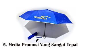 Media Promosi Yang Sangat Tepat merupakan manfaat payung sebagai media promosi