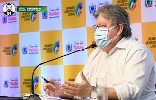 João Azevêdo orienta gestores municipais a seguirem plano nacional de imunização contra a Covid-19