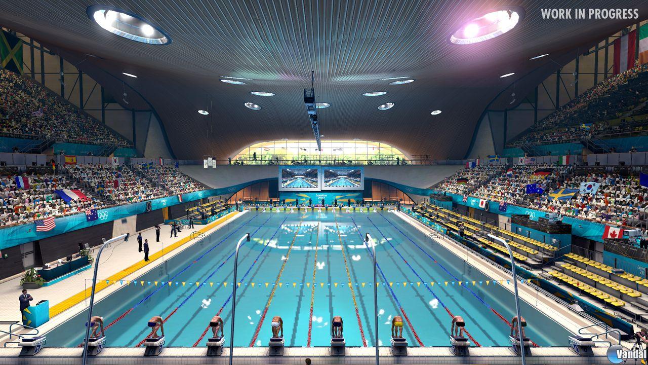 El origen del deporte origen de la nataci n for Metros piscina olimpica