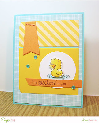I'm Quackers for You card-designed by Lori Tecler/Inking Aloud-stamps and dies from SugarPea Designs
