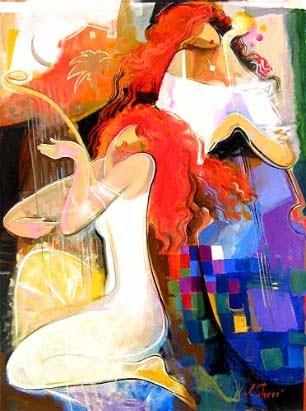 Manhã com Música - Irene Sheri e suas românticas pinturas