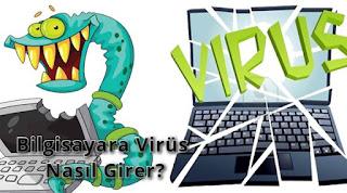 Bilgisayara Virüs Nasıl Girer?