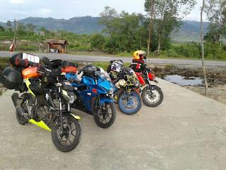 Street Owners GSX 150 Sulawesi Utara Touring Road To Celebes 2018