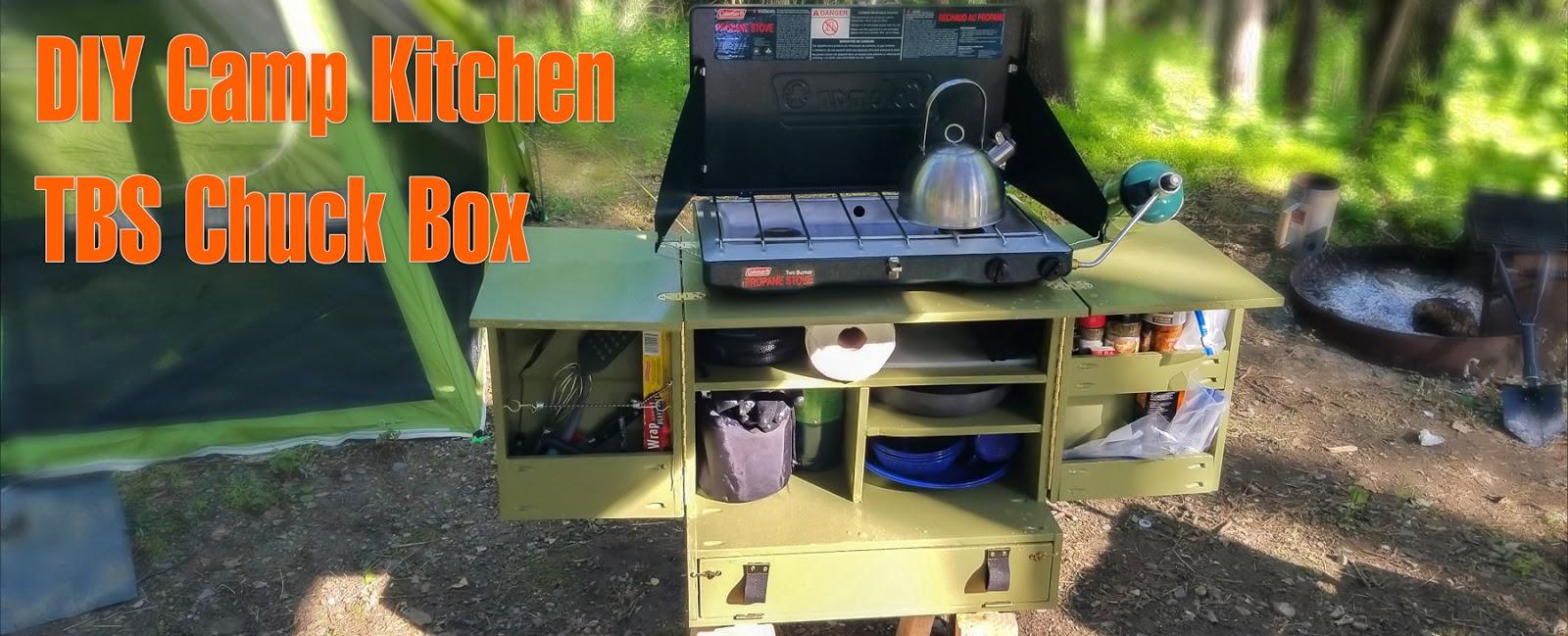 Camping Kitchen Chuck Box Plans