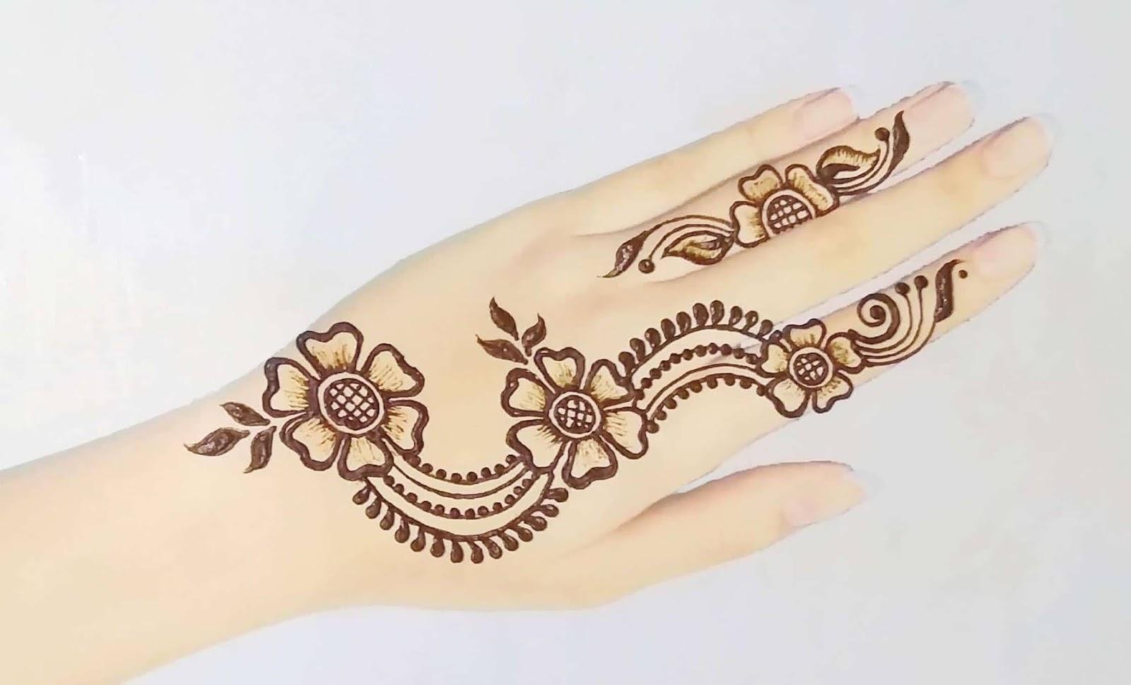 Henna Finger Tattoos