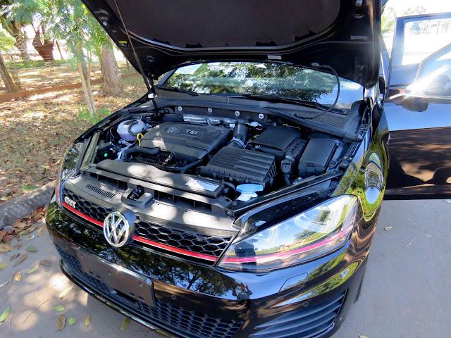 VW Golf GTI 2017 - motor 2.0 TSI de 220 cavalos
