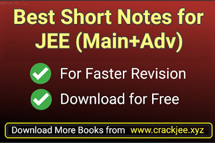 [PDF] Best Short Notes for JEE Main and Advanced | Download Pdf for Free