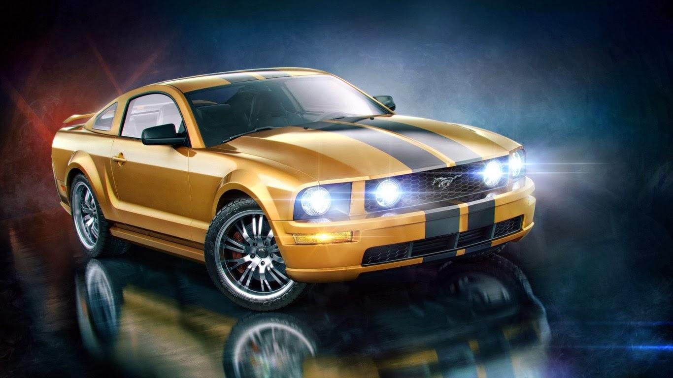 3d Mustang Wallpaper خلفيات رائعة دقة عالية الجودة