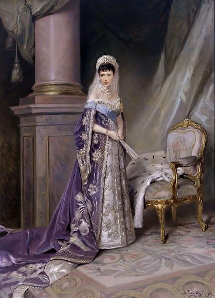 Маковский Владимир Егорович - Императрица Мария Фёдоровна. 1912