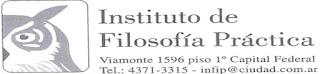 INSTITUTO DE FILOSOFIA PRACTICA