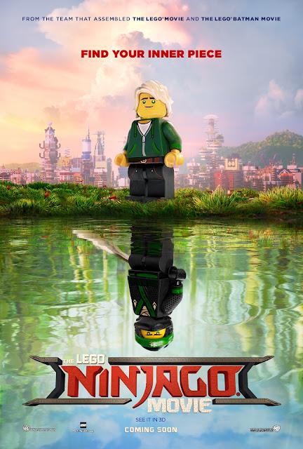 The LEGO Ninjago - Movie Poster