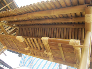 Beautiful Bamboo Cup Holder Surface And Beautiful Bamboo Roof