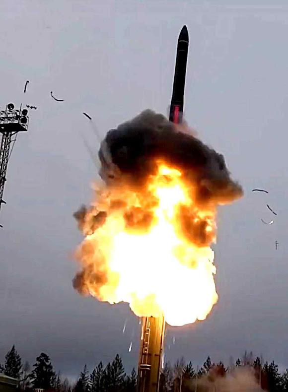 Rússia desenvolve novos mísseis nucleares que poderiam destruir qualquer cidade ou país no mundo, Foto do Ministério da Defesa russo