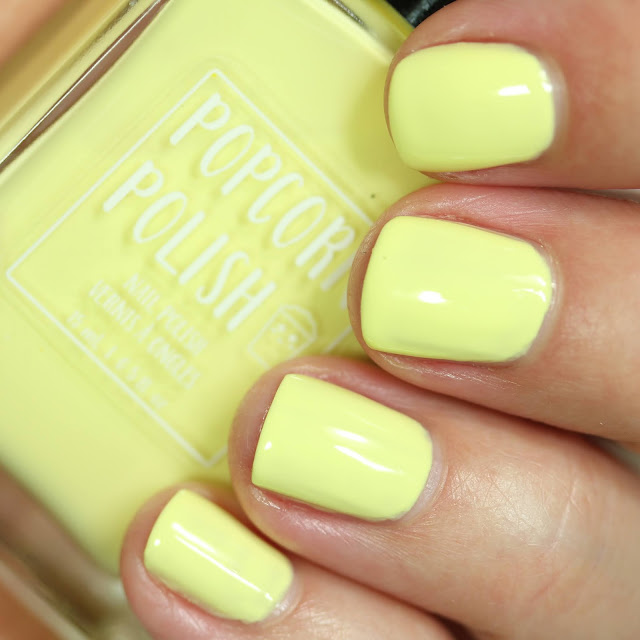 Popcorn Polish Melted Butter swatch