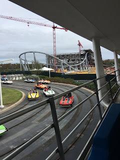 Magic Kingdom Tron Roller Coaster Construction December 2019 Disney World