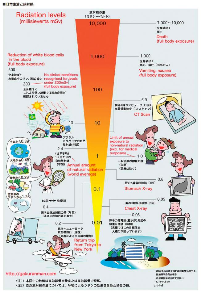 Vislives More Radiation Exposure
