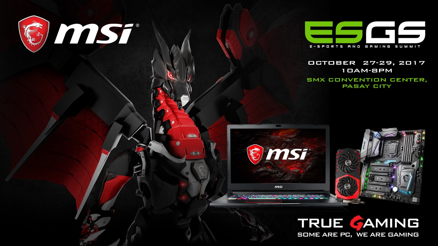 MSI Gaming Joins the Biggest Gaming Event in the Philippines, E