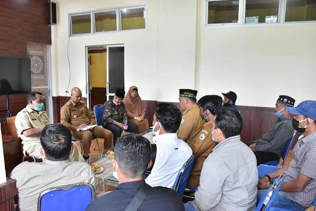 Warga Kecamatan Mesidah dan Syiah Utama Audiensi Dengan Plt Bupati Bener Meriah